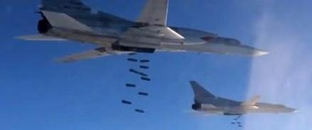 Боевики ИГИЛ считают потери после бомбежки российской авиацией