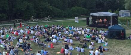15 и 17 июля — фестиваль «Июльский Джаз» под открытым небом в «Аптекарском огороде»