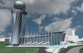 Со стадиона ЦСКА строители убирают технику