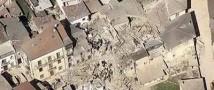 По центральным районам Италии прокатилась серия землетрясений