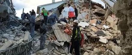 В Италии после серии землетрясений погибло 247 человек