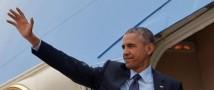 Для торжественной встречи Обамы в китайском аэропорту забыли приготовить трап с ковровым покрытием