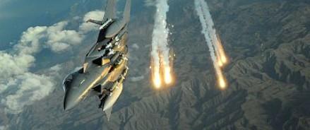 Авиаудар США позволил террористам перейти в наступление