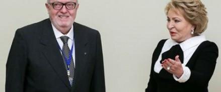 Председатель ПАСЕ Педро Аграмунт сказал, что работа по возвращению России в ПАСЕ будет им продолжена