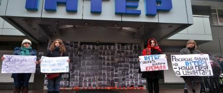 Вчера весь день телеканал «Интер» провел в ожидании нового нападения радикально настроенных активистов