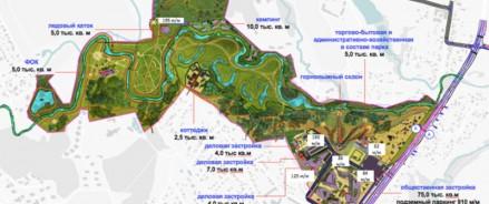 Парк «Красная Пахра» станет крупнейшим спортивно-оздоровительным комплексом Новой Москвы