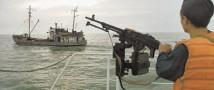 Северокорейское рыболовецкое судно с перестрелками было задержано в водах РФ