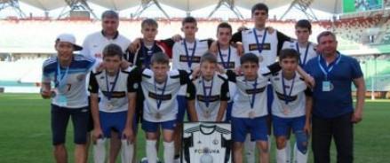 Детский футбольный клуб «Тотем» порадовал президента