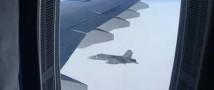 Истребители ВВС Швейцарии на опасном расстоянии преследовали гражданский самолет РФ