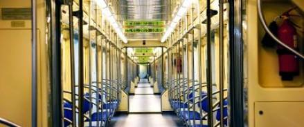 В новых вагонах метро можно вычислить лучший вариант маршрута и зарядить мобильник