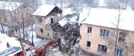 После взрыва бытового газа, дом восстановлению не подлежит, погибшими нашли 6 человек