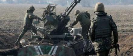 Под Донецком «Правый сектор» использует заградительный огонь против солдат ВСУ