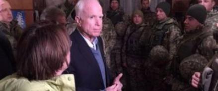 Маккейн пообещал украинцам санкции, направленные лично против Путина и Шойгу