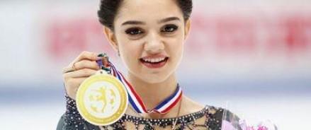 Снова Евгения Медведева порадовала россиян своим выступлением на чемпионате Европы