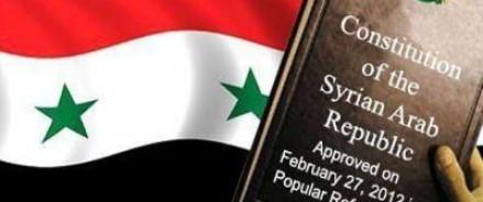 Конституция, подготовленная Россией, должна заменить автомат в руках сирийцев, — подчеркнула Захарова