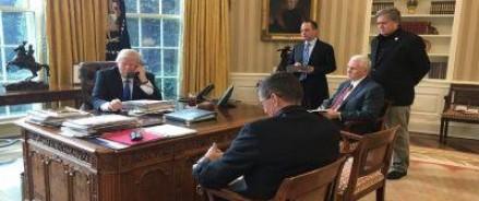 Трамп и Путин более 40 минут обсуждали насущные проблемы на международной арене