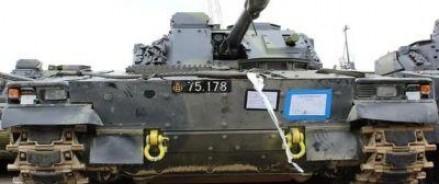 Немецкие танки прибыли в Литву