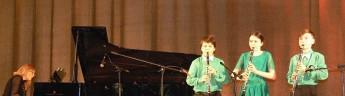 Российские дети сыграли концерт к азербайджанскому Новрузу