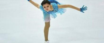 Мировой рекорд по числу набранных баллов был сегодня установлен российской спортсменкой  Медведевой