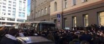 В МВД Москвы сообщают, что на Тверской собралось около 8 тысяч человек в ожидании Навального