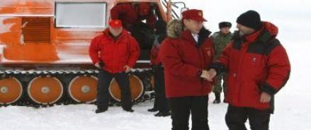 С рабочим визитом в Арктику прилетел президент РФ Владимир Путин