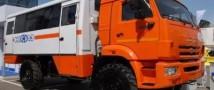 В Магадане испытывают новую сверхпроходимую машину скорой помощи
