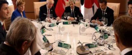 На саммите «Большой cемерки» решили продлить санкции в отношении РФ