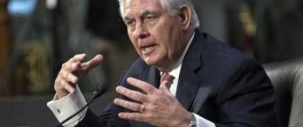 Тиллерсон ответил на вопрос журналистов о «перезагрузке» отношений с Россией