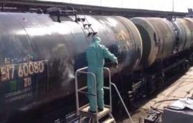 Железнодорожный состав, совершавший грузоперевозки в Псковской области, сошел с рельс