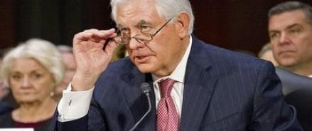 Со слов Тиллерсона, союзники США убеждают Белый дом наладить отношения с Россией