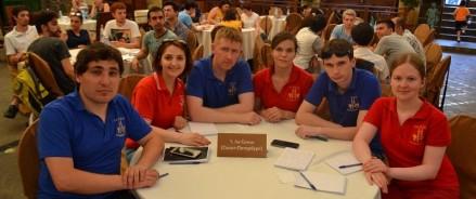 Российская команда выиграла в бакинской лиге «Что? Где? Когда?»
