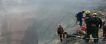 На руднике «Мир» к спасению шахтеров приступили альпинисты