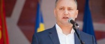 Додон пообещал блокировать все законопроекты, которые бы навредили отношениям РФ и Молдавии