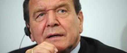 Шредер уверен, что в ЕС не дождутся такого президента РФ, который бы распрощался с Крымом