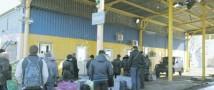 На границе с Украиной замечено резкое оживление
