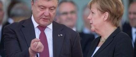 Порошенко и Меркель обсудили размещение миротворцев на Восточной Украине