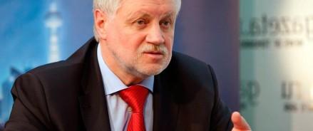 Сергей Миронов считает принятие поправок о СМИ – иностранных агентах вынужденной, но необходимой зеркальной мерой
