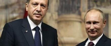 Завершились четырехчасовые переговоры Владимира Путина и Реджепа Эрдогана