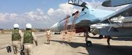 Российские военнослужащие возвращаются из Сирии на родину