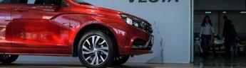 Лидером январских продаж стал автомобиль Lada Vesta