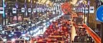 Москва вышла на второе место в мире по дорожным пробкам