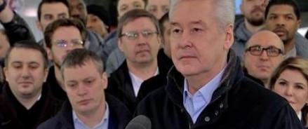 Мэр Москвы открыл три станции метро в столице