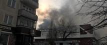 В Кемерово в ТЦ «Зимняя вишня» тушат пожар, который уже унес жизни четырех детей