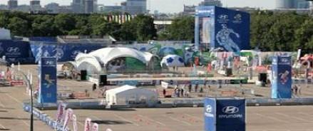 В столице все-таки появилась фан-зона у МГУ
