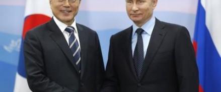 Путин и лидер Южной Кореи нашли интересным проект «Арктик СПГ-2» и соединение железнодорожных магистралей