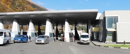 После реконструкции КПП на границе с Грузией будет пропускать в 10 раз больше легковых машин