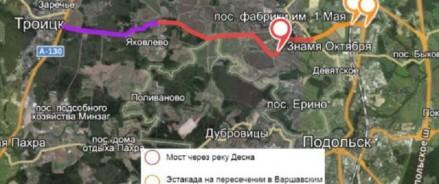 Дорогу от Варшавского шоссе до деревни Яковлево сдадут летом 2021 года