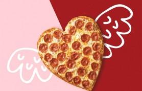 С любовью, «Папа Джонс»: сеть пиццерий запустила пиццу в форме сердца