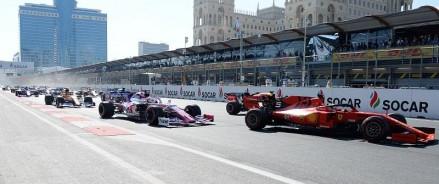 Гран-при Формула-1 SOCAR Азербайджан прошло в Баку