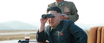 В Северной Корее ведется стрельба из нового тактического управляемого оружия